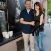 Saša Šekoranja na predstavljanju izložbe Loredana Bahorić i Charlie designa
