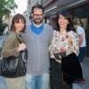 Borut Mihalić i Asja Peterson s prijateljicom