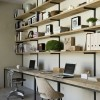 Rustikalno uređenje kućnog ureda