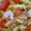 Tjestenina sa škampima, tikvicama i cherry rajčcama