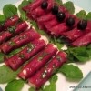 Kozji sir i bresaola s crnim paprom
