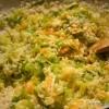 Rižoto s porilukom, tikvicom i mrkvom - priprema