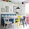 Uređenje doma s različitim stolicama