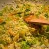 Rižoto s porilukom, tikvicom i mrkvom