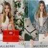 Mulberry čajanka Care Delevingne -kampanja