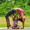 Pogledajte preslatke fotografije majke i kćeri u yoga pozama