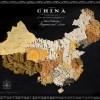 Karte svijeta napravljene od prave hrane