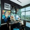 Stan u kojem se spajaju visoka moda i detalji iz pop kulture, Los Angeles