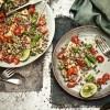 Quinoa i leće  sa šparogama i metvicom