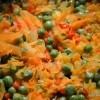 Pileći saft s mrkvom i graškom, priprema jela