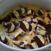 Torta od keksa i čokoladnih bananica