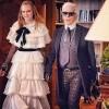Karl Lagerfeld i njegova muza Cara Delevingne
