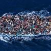 Fotografija Massima Sestinija – Mediteran– 7. lipnja, 2014 (spašavanje migranata)