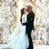 Svadbena slika Kim i Kanye Westa