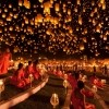 1. Yi Peng Lantern Festival (Thailand)
