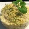 Rižoto s tikvicom, pistacijama i limunom