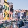 Otok Burano, Venecija, Italija