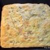 Foccacia (pogača) sa šunkom i sirom