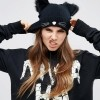 ASOS HALLOWEEN Cat Beanie With Glow In The Dark Whiskers £10.00
