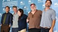 Paul Thomas Anderson with team, Venice film festival