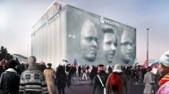 """""""Mega Faces"""" paviljon za Zimske Olimpijske igre u Sochiju"""