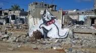 Banksy napravio mini dokumentarac u Gazi i tri nova street arta