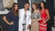 Dr Aleksandar Milenović s Bojanom, Anitom i Iris u Imedu