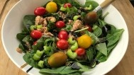 Salata s tunom i cherry rajčicama