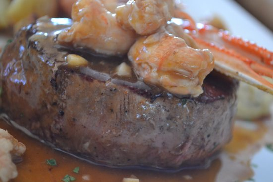 Biftek sa škampima