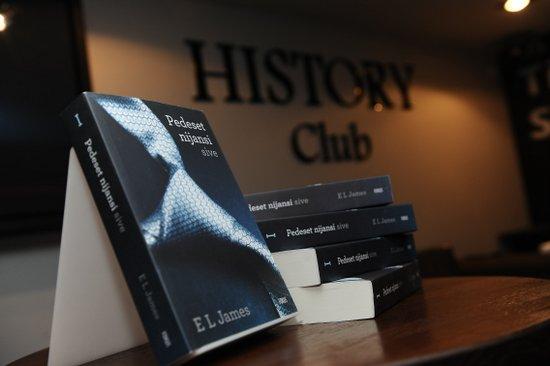 Promocija hit knjige Pedeset nijansi sive