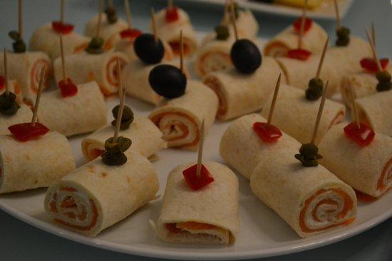 Tortilje s lososom i kremastim sirom - predjelo