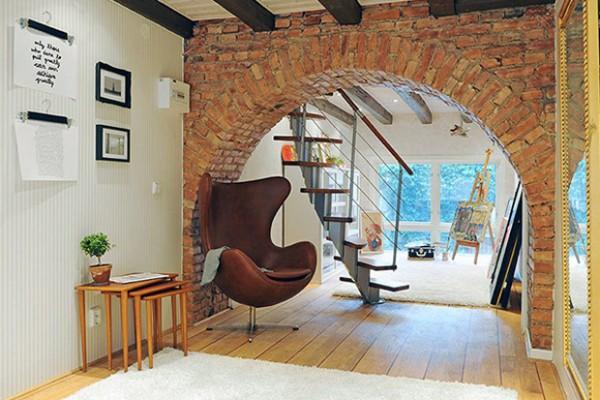 Sviđa li vam se cigla kao ukras u interijeru?