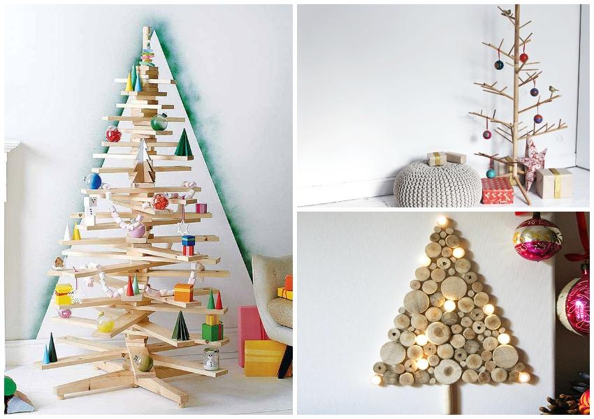 10 najneobičnijih ideja koje mogu zamijeniti božićno drvce