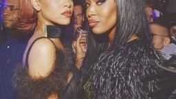 Rihanna i Naomi Campbell