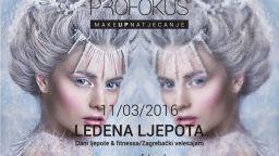 """""""Ledena ljepota"""" ovogodišnja je tema make up natjecanja Učilišta Profokus"""