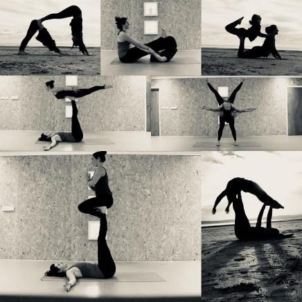 Vježbanje u dvoje je zabavnije: Acro joga