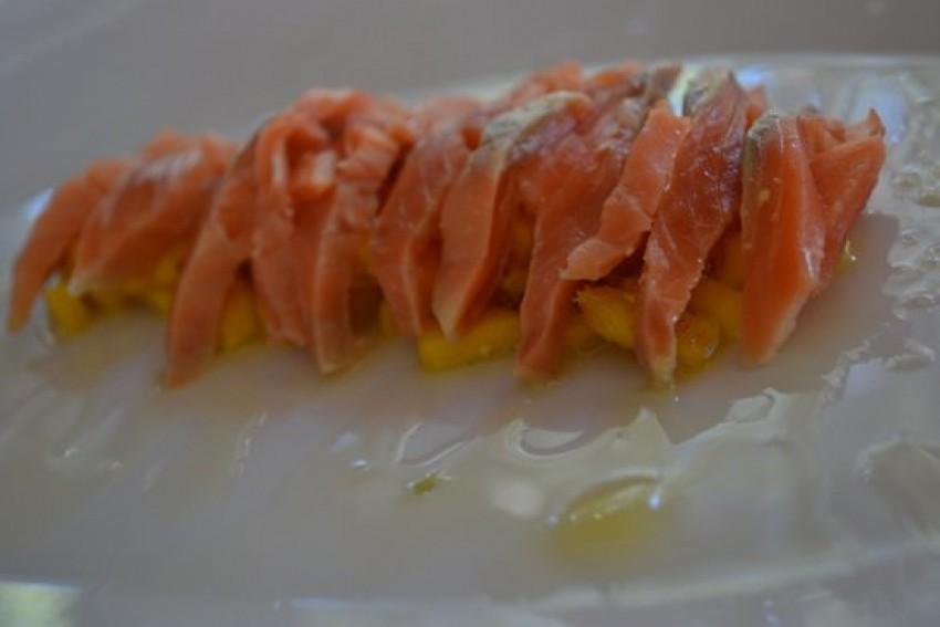 Sushimi od lososa