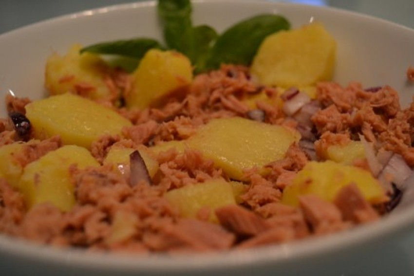 Salata od tunjevine i krumpira