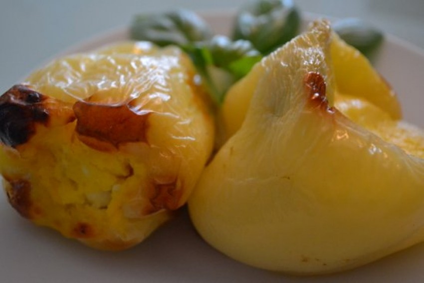Pečene paprike punjene krumpirom