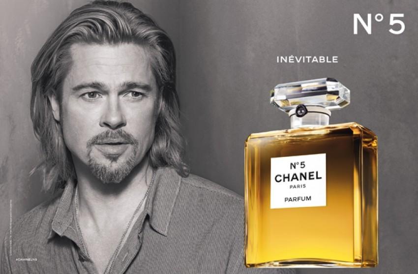 Brad Pitt u kampanji za parfem Chanel No.5