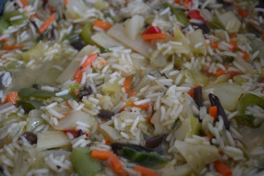Rižoto s kineskim povrćem