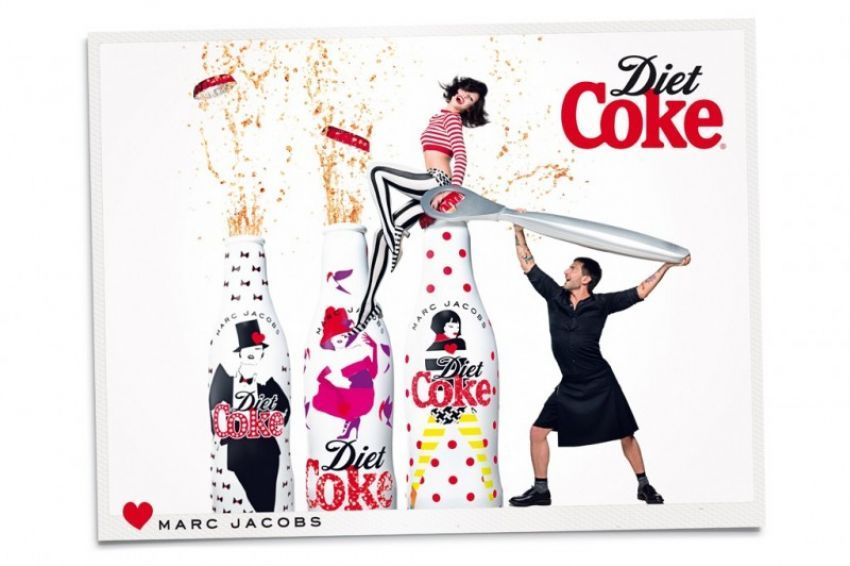 Marc Jacobs za Diet Coke