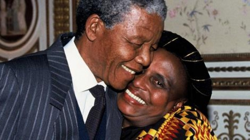 Miriam Makeba i Nelson Mandela