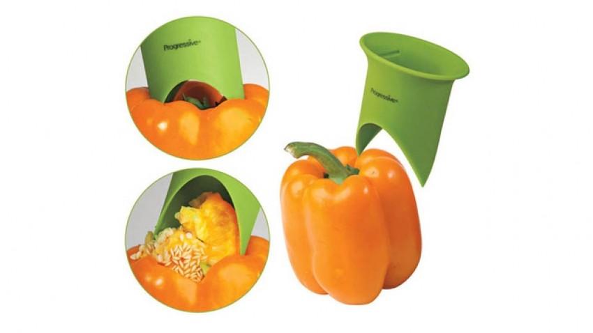 Sprava za čišćenje paprika