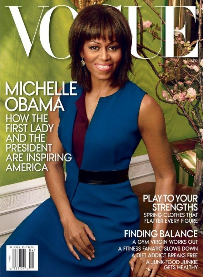 Michelle Obama, Vogue travanj 2013.