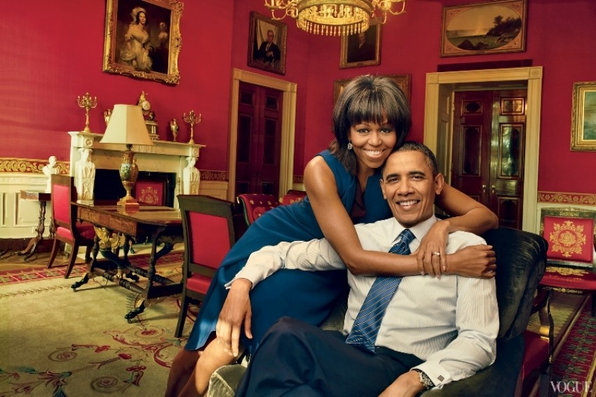 Michelle i Barack Obama, Vogue travanj 2013.