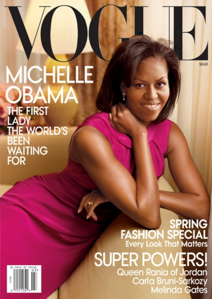 Michelle Obama, Vogue ožujak 2009.