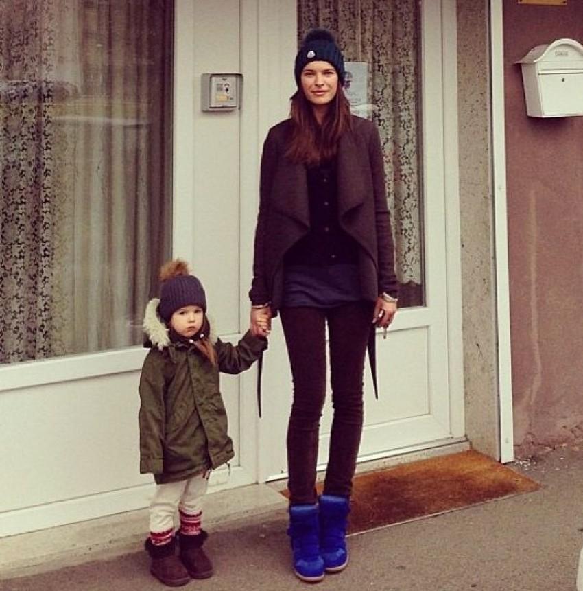 Ljupka Gojić Mikić s kćerkom