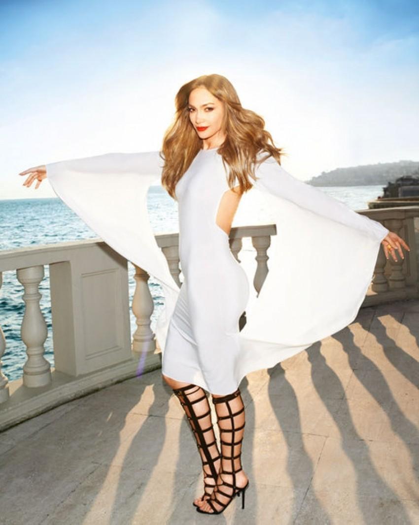 Jennifer Lopez u Jimmy Choo gladijatoricama