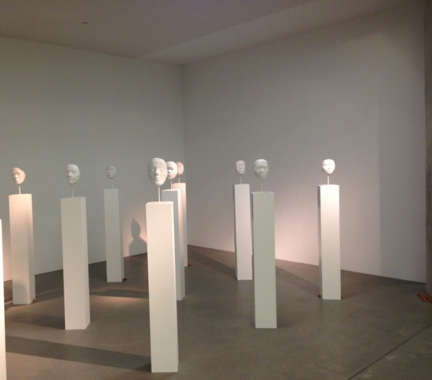 Promatrači, gostujuća izložba Ivane Popović  u Muzeju Suvremene umjetnosti (MSU-u)